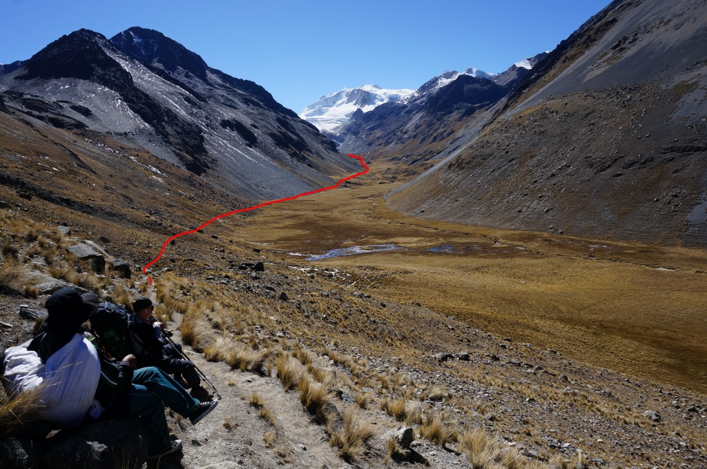 Access route to Kelluani valley base camp upper vally (1024x680)