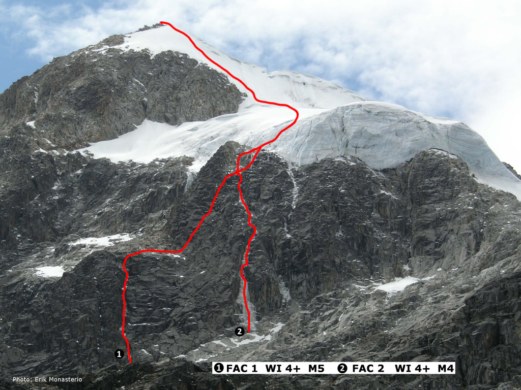 Point 5505 of Pico Shulze routes