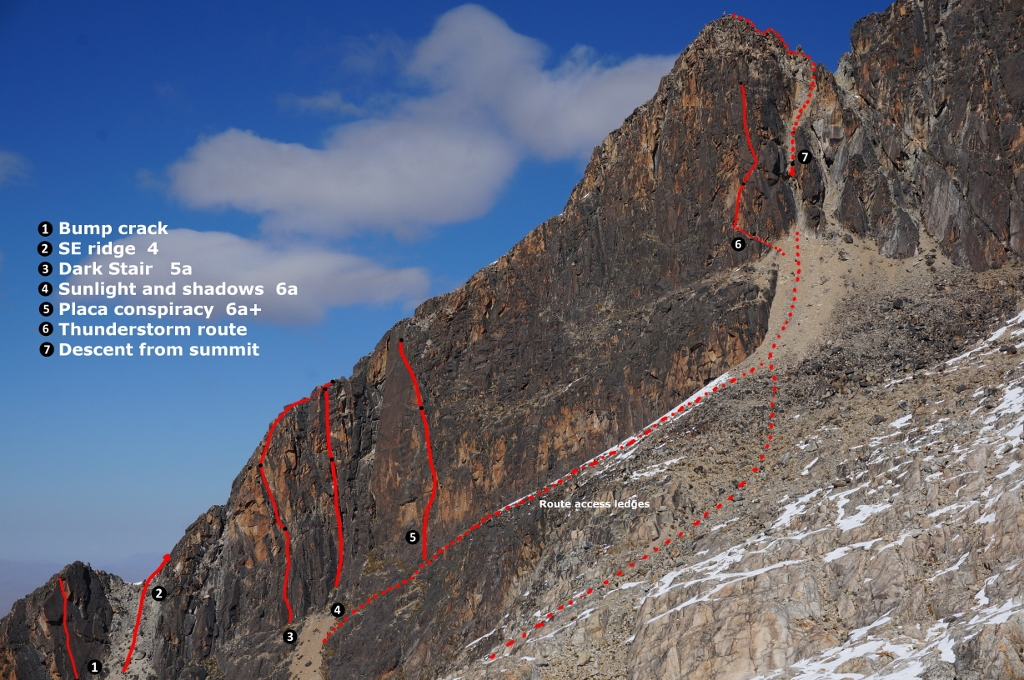 Sth peak of Pico Milluni routes (1024x680)